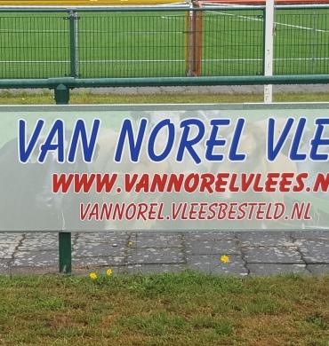 DSV'61 verwelkomt nieuwe bordsponsor Van Norel Vlees