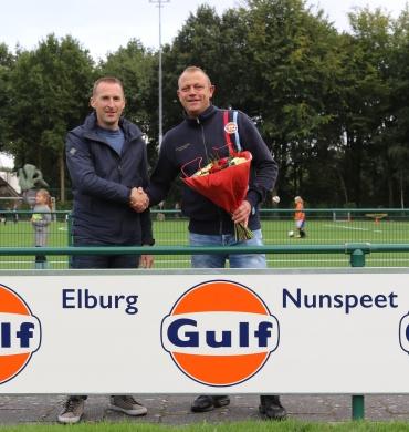 DSV'61 verwelkomt Gulf Elburg en Nunspeet als nieuwe reclamebordsponsor.