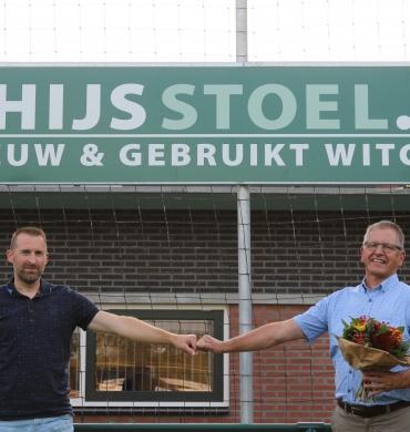 Bordsponsor  Thijs Stoel